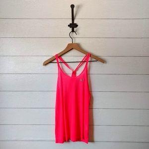 Nike Dri Fit Neon Pink Racerback Tank Top
